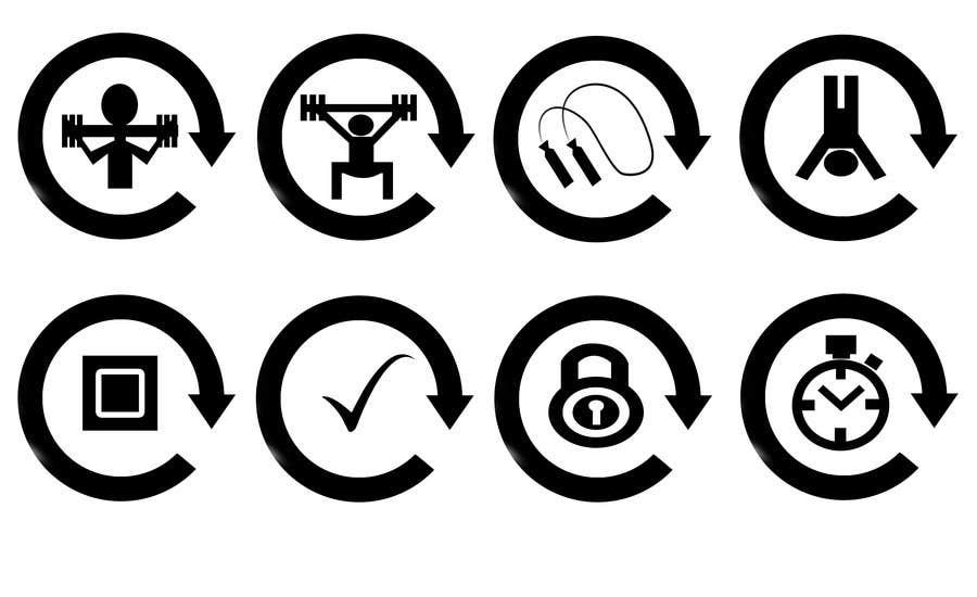 Inscrição nº 13 do Concurso para Design some Icons, website back ground