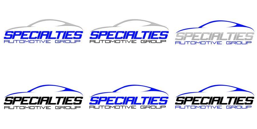 Inscrição nº 27 do Concurso para Design a Logo for Specialties Automotive Group, LLC