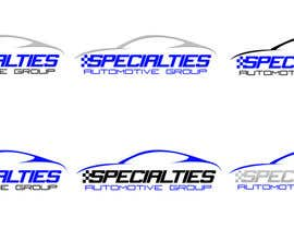 #28 para Design a Logo for Specialties Automotive Group, LLC por francidesigns