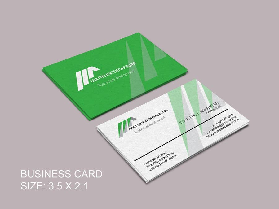 Contest Entry #                                        2                                      for                                         Business Cards and Brochure Design for real estate company
