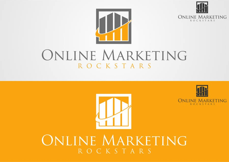 Contest Entry #                                        25                                      for                                         Ontwerp een Logo for Online Marketing Rockstars