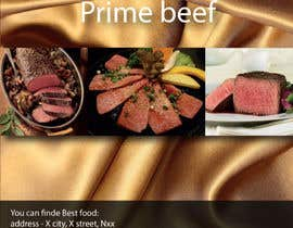nº 20 pour best food brochure par Aleshander