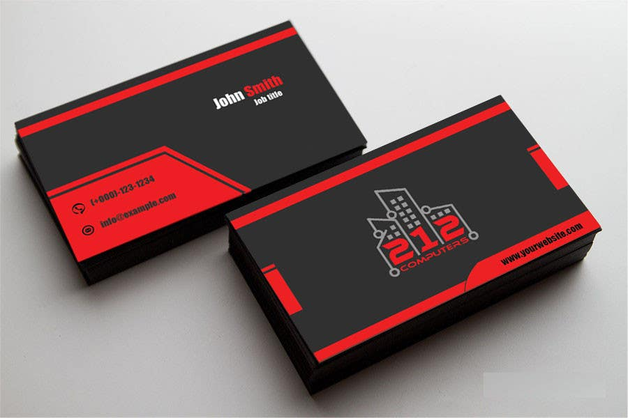 Contest Entry #27 for Design some Business Cards for 212 computers