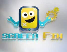 #125 cho Design a Logo for ScreenFix bởi persal