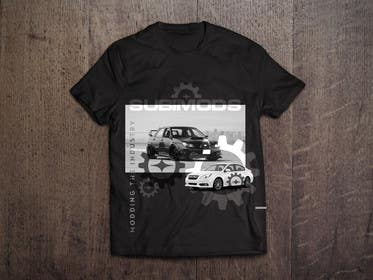 #8 for 3 Shirt Designs For A Subaru Parts Company af genesispeche