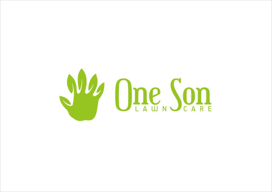 Penyertaan Peraduan #37 untuk Show me what you got! Design a Logo for my new company One Son Lawn Care