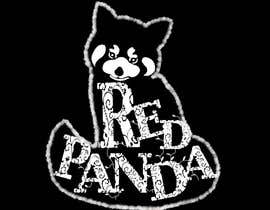 #24 cho Design a Women's T-Shirt With an Artistic Letter Design that forms/shapes a Red Panda animal bởi medokhaled