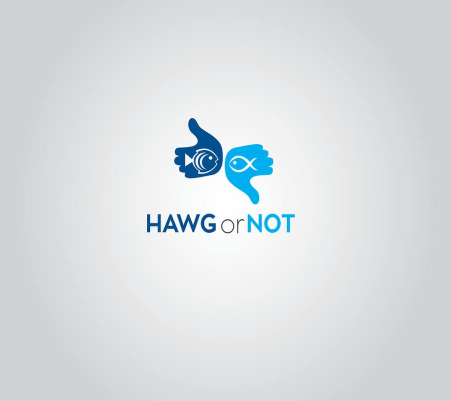 Contest Entry #                                        10                                      for                                         Design a Logo for my Fish Blog (Hawg or Not)