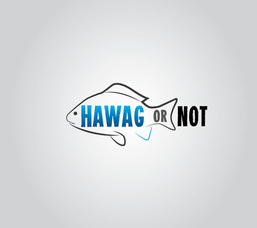 Contest Entry #27 for Design a Logo for my Fish Blog (Hawg or Not)