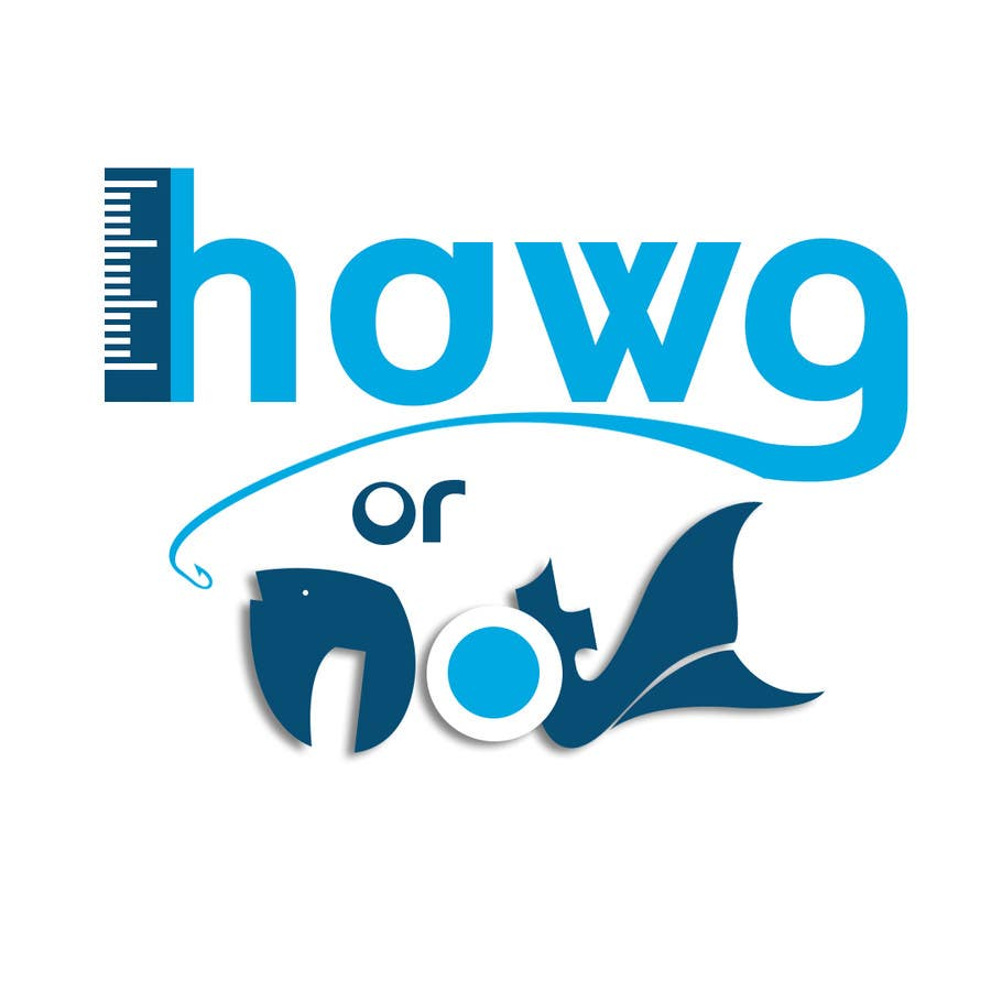 Contest Entry #                                        7                                      for                                         Design a Logo for my Fish Blog (Hawg or Not)