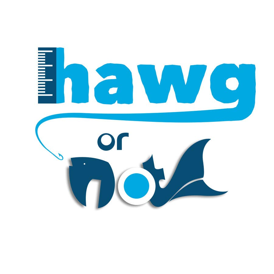 Contest Entry #                                        24                                      for                                         Design a Logo for my Fish Blog (Hawg or Not)