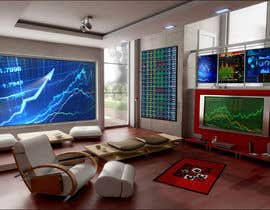 #25 untuk Design a high tech stock trading room oleh harshy90