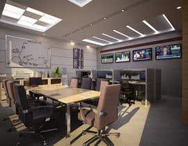 #32 for Design a high tech stock trading room af AnastasiyaH