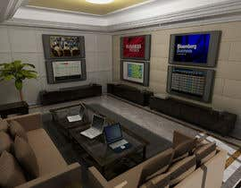 #42 para Design a high tech stock trading room por aziz3d