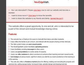 nº 14 pour Design email template and rewrite email content par vigneshhc