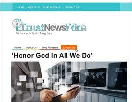 #98 para Design a Logo for i Trust News Wire por arteq04