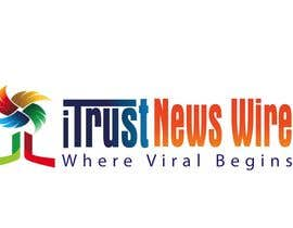 #104 para Design a Logo for i Trust News Wire por asmahmud