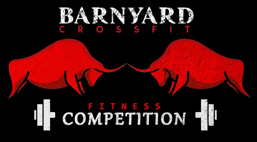 Konkurrenceindlæg #                                        6                                      for                                         Barnyard Beatdown CrossFit Competition Logo