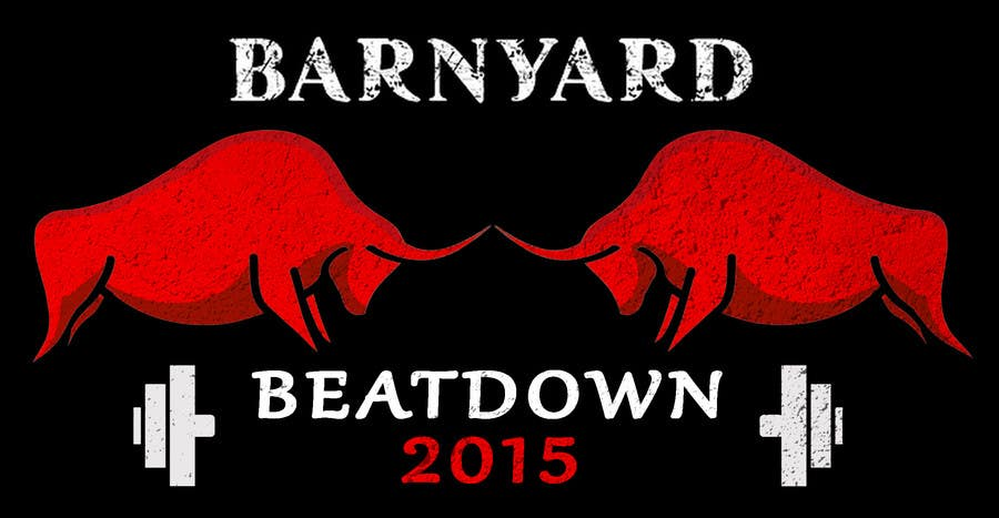 Konkurrenceindlæg #                                        8                                      for                                         Barnyard Beatdown CrossFit Competition Logo