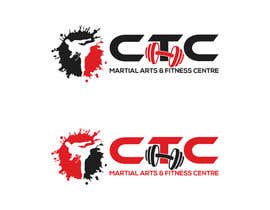 #37 para Design a Logo for CTC Martial Arts & Fitness Centre por Asifrbraj