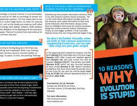 nº 10 pour Design a Brochure for a Science Promotion par Olywebart