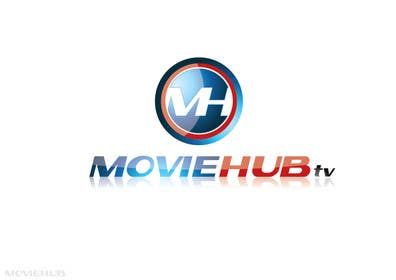 #40 para Design a Logo for MovieHub.Tv por paxslg
