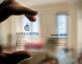 imtiazmahmud80 tarafından Design some Business Cards for Asher Capital için no 118