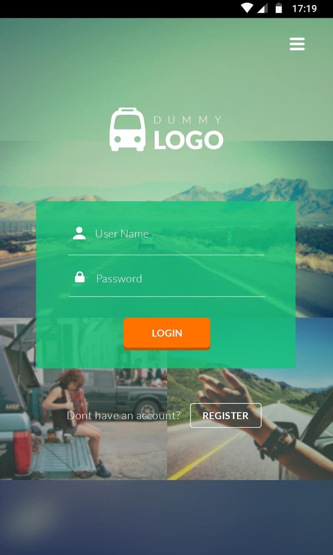 Kilpailutyö #15 kilpailussa Design an App Mockup