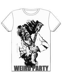 Nro 19 kilpailuun Design a T-Shirt for the band Weird Party käyttäjältä Nihadricci