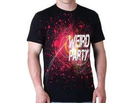 #8 cho Design a T-Shirt for the band Weird Party bởi marwanwaleed