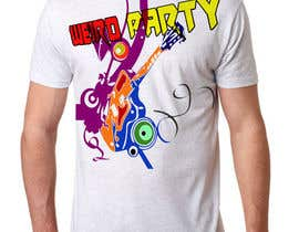 #5 untuk Design a T-Shirt for the band Weird Party oleh Khantayeb