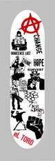 Ảnh thumbnail bài tham dự cuộc thi #                                                10                                              cho                                                 Skateboard collage style design with an anarchy theme (pictures provided)