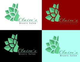 #15 for Design a Logo for Claire's Beauty Salon af hasanimran3232