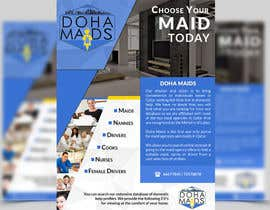 #6 cho Design a Flyer for www.dohamaids.com bởi ghani1