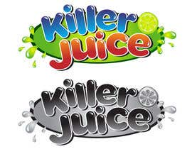 #58 para Design a Logo for Killer Juice por bymaskara