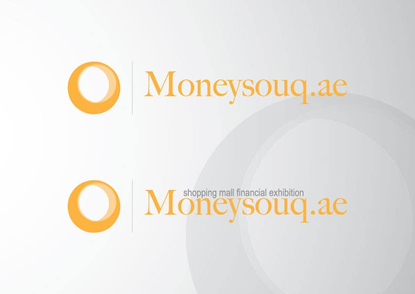 Penyertaan Peraduan #37 untuk Logo Design for Moneysouq.ae   this is UAE first shopping mall financial exhibition