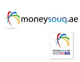 #154 para Logo Design for Moneysouq.ae   this is UAE first shopping mall financial exhibition por pupster321