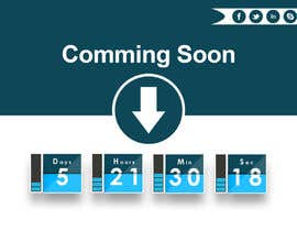 #23 untuk Design a Coming Soon page for selling in Themeforest oleh BoboInt