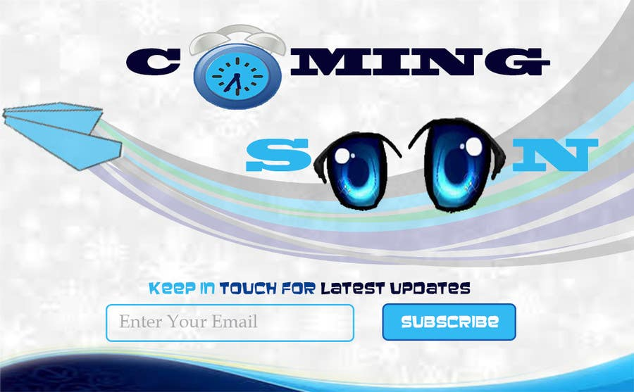 Bài tham dự cuộc thi #19 cho Design a Coming Soon page for selling in Themeforest