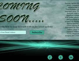 sanezoni tarafından Design a Coming Soon page for selling in Themeforest için no 20