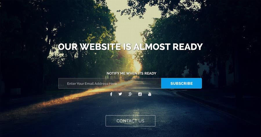 Bài tham dự cuộc thi #28 cho Design a Coming Soon page for selling in Themeforest
