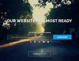 #28 untuk Design a Coming Soon page for selling in Themeforest oleh xrevolation