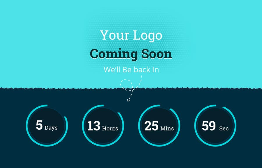 Penyertaan Peraduan #14 untuk Design a Coming Soon page for selling in Themeforest