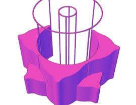 Nro 38 kilpailuun 3D flower stand in AutoCad käyttäjältä nhdarshanaprasad