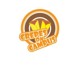 #37 for Design a Logo for Crêpes on Campus af dreamer509