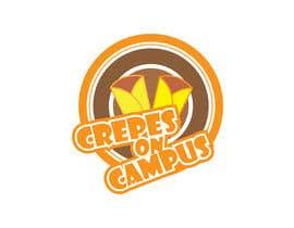 #37 untuk Design a Logo for Crêpes on Campus oleh dreamer509