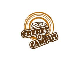 #43 for Design a Logo for Crêpes on Campus af dreamer509