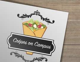 #25 untuk Design a Logo for Crêpes on Campus oleh amirakarmila
