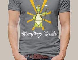 #75 para Design a T-Shirt for Slogan: Everything Counts por mailla