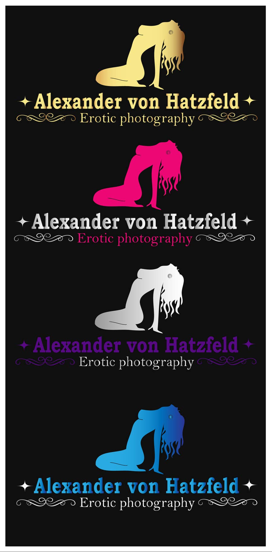 Penyertaan Peraduan #17 untuk Design a logo for Alexander von Hatzfeld - Erotic Photographer